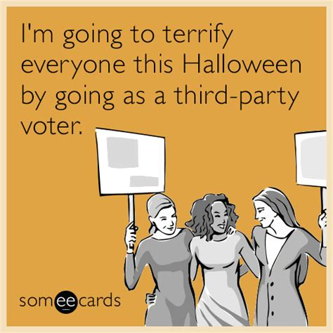 Republican Halloween Meme - i m going to terrify everyone this halloween by going as a