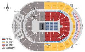 air canada center floor plan air canada centre toronto on seating chart view