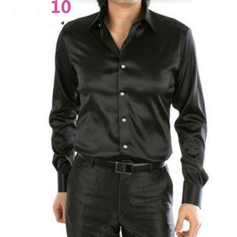 black silk shirt custom shirt