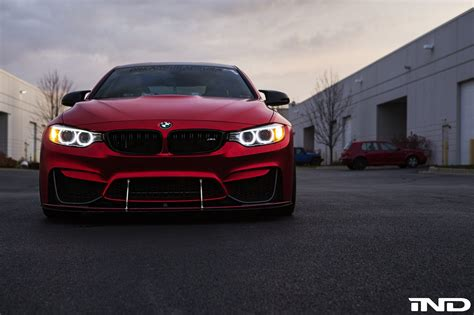 red bmw m4 a matte red beauty bmw m4 photoshoot my car portal