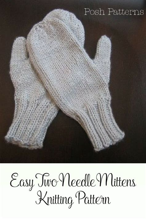 knitting pattern mittens easy 217 best images about mittens on pinterest free pattern