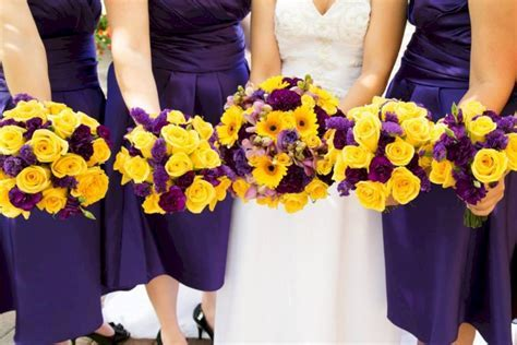 44 Stylish Yellow And Purple Wedding Ideas   VIs Wed