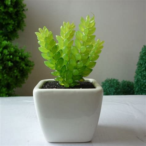 small potted plants artificial wholesale potted succulent plants smalll plants