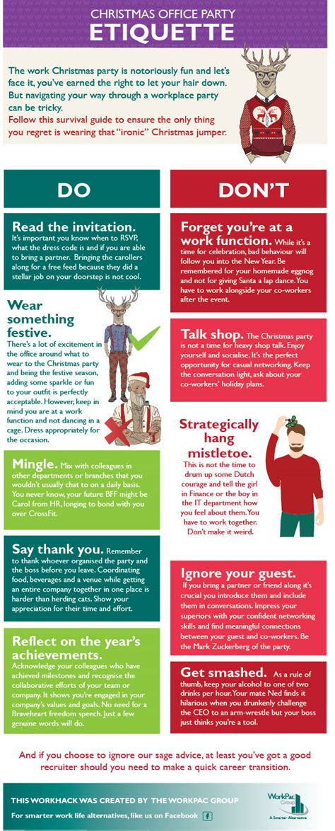 the office christmas party a survival guide workpac
