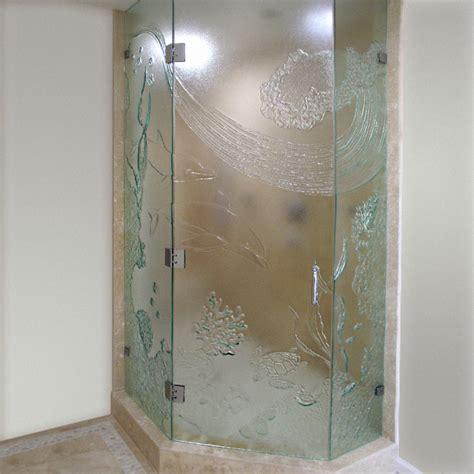 Cast Glass Shower Doors Glass Bath Shower Shower Doors Cast Glass Images