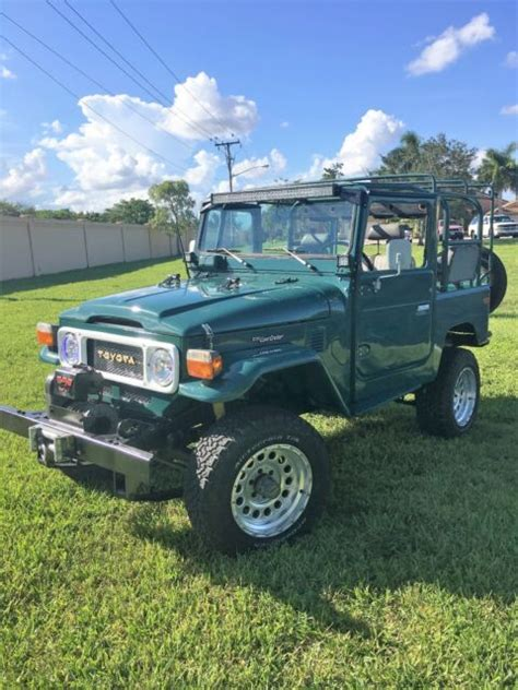 auto air conditioning service 2009 toyota land cruiser electronic toll collection 1979 toyota land cruiser fj40 classic original rustic green with ac and ps classic toyota land