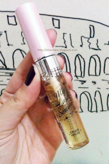 My Lash Serum bloomarc review etude house my lash serum