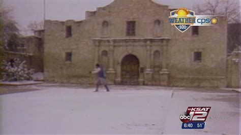 heb texas backyard weather 101 rare 1985 san antonio snow storm