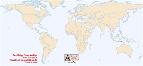 where is east timor located on the world map world atlas the sovereign states of the world east