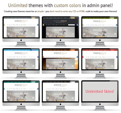 theme editor module prestashop simplegreat responsive prestashop 1 6 theme paid