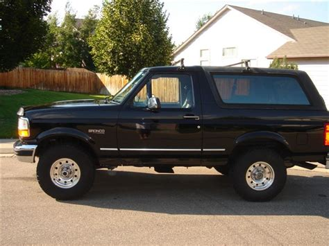 how to work on cars 1996 ford bronco spare parts catalogs 1996 ford bronco overview cargurus