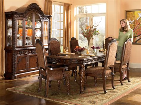 Dining Room Set north shore rectangular dining room set item series d553