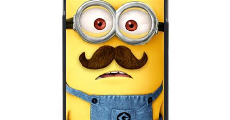 Kaos Icant I Will Believe That New despicable me minion with mustache samsung galaxy