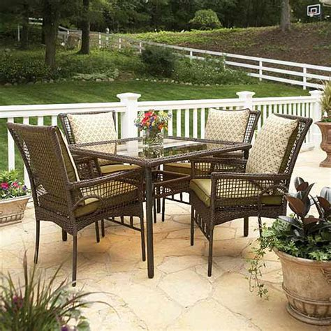 bali patio furniture better homes and gardens bali island 5 dining set patio furniture walmart