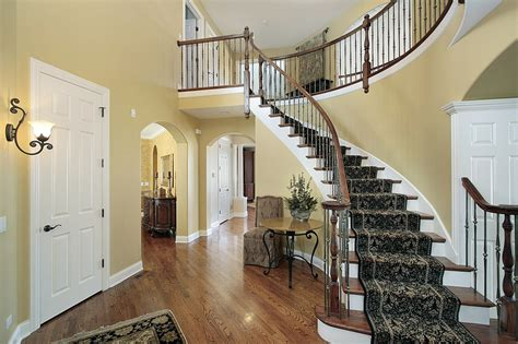 spinning l that projects pictures on the walls 44 entrance foyer design ideas for contemporary homes photos