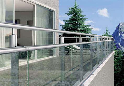 Balkongeländer Aus Glas by Balkongel 228 Nder Aus Glas Edelstahl Stahl