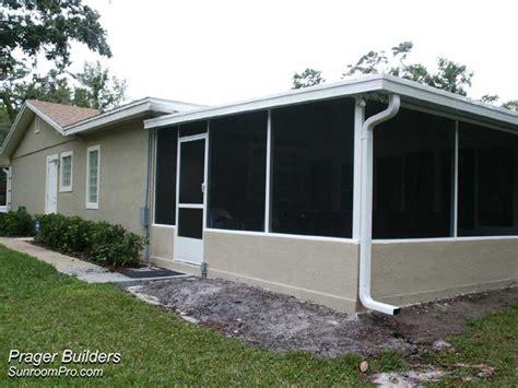 florida room kits sunroom acrylic windows enclosure winter springs florida prager builders sunroom pro