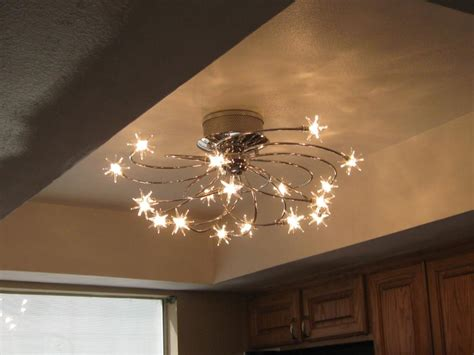 unique ceiling light fixtures semi flushmount