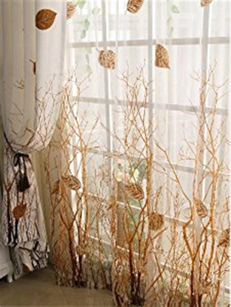 tree window curtains com elleweideco modern autumn leaf tree branch