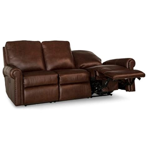Reclining Means by Smith Brothers 420 Traditional Power Reclining Sofa With