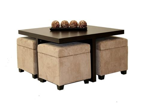 Ottoman Table With Stools by Ottoman Stool Home Design Idea Coffee Table With Stools