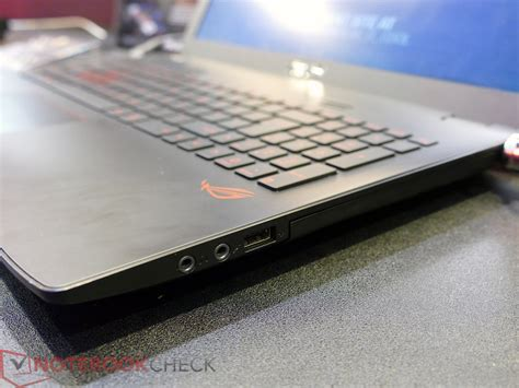 Asus Rog Gl552 Notebookcheck asus updates rog g751 with nvidia g sync and refreshes gl552 notebookcheck net news