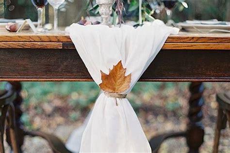 November Wedding Ideas by 15 Gorgeous Leaf Ideas For A Fall Wedding