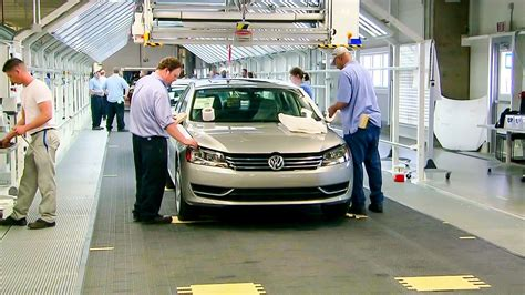 Volkswagen Chattanooga Tours by Vw S Passat Made In Tennessee Business News
