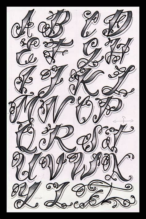 cholo tattoo alphabet flickr photo sharing