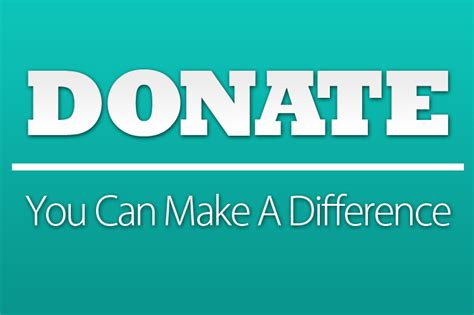 donate you can make a difference uniti