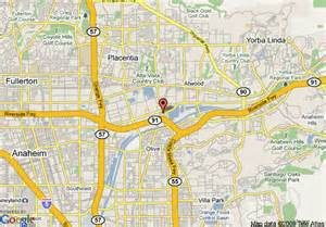 map of extended stay america orange county anaheim