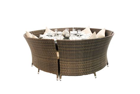oval sofa collection asha quot chester quot 10 seater rattan oval sofa dining set