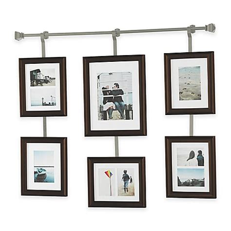 Foto Frame 1 Set buy wall solutions 10 rod and frame set in pewter from bed bath beyond