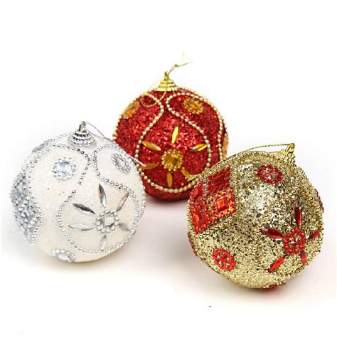 high quality personalized christmas ornaments about 8cm
