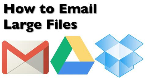 how to email large files with gmail drive and
