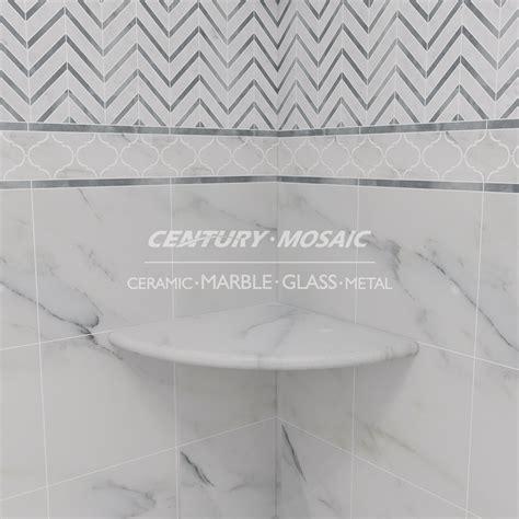 mensole marmo marmo della parete soggiorno bagno d angolo mensola