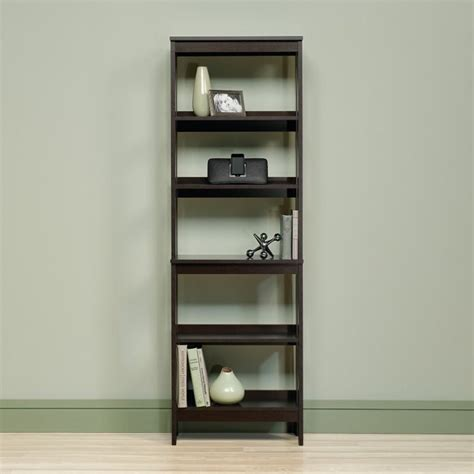 5 Shelf Storage Unit In Cinnamon Cherry 418455 Sauder Beginnings 5 Shelf Bookcase