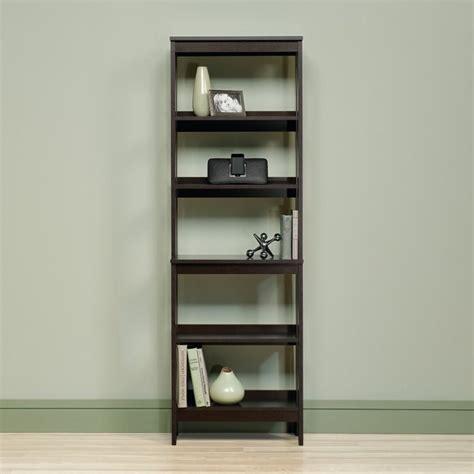 Sauder Beginnings 5 Shelf Bookcase 5 Shelf Storage Unit In Cinnamon Cherry 418455