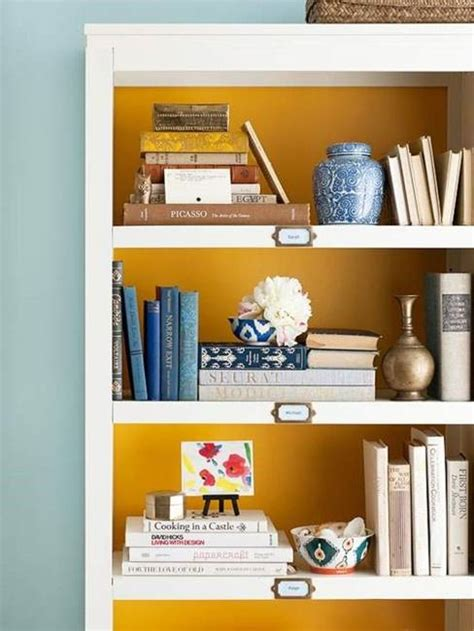 25 ideas for shelves decoration with books creating
