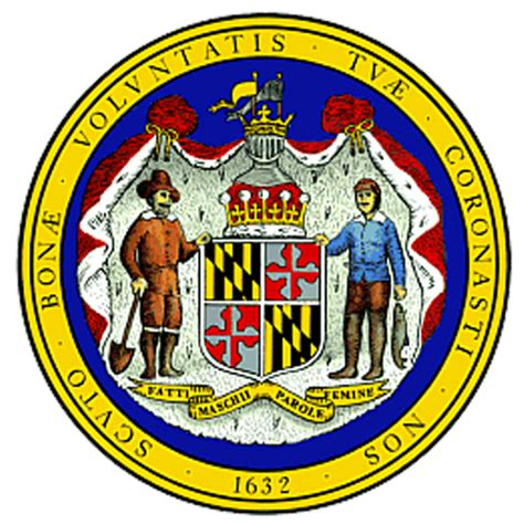 Maryland State Search Maryland Md State Seal List Of 50 State Seales Of The United States