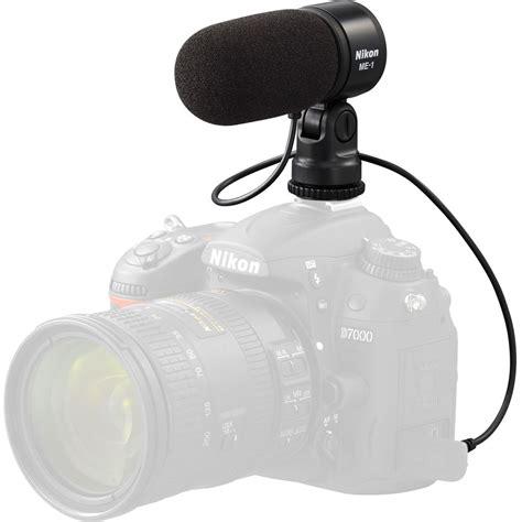 nikon me 1 stereo microphone 27045 b h photo