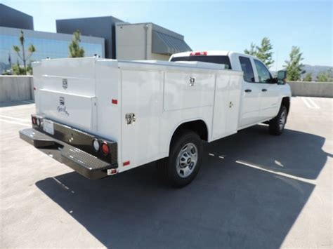 harbor utility bed service or utility body paradise work trucks