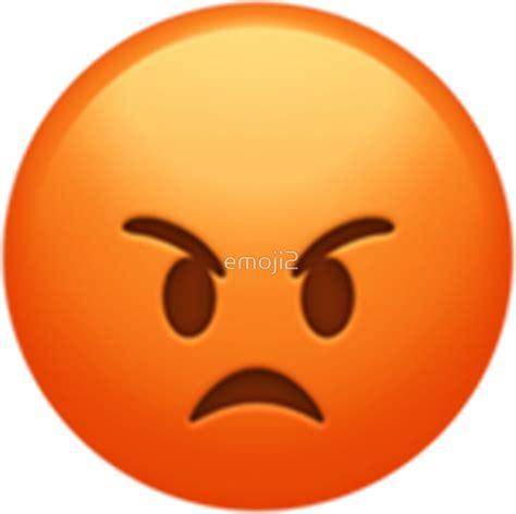 imagenes emoji enojado pegatinas 171 emoji enojado 187 de emoji2 redbubble