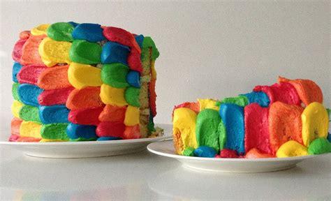 Cake Rainbow Decoration by Rainbow Cake Decoration How To Cook That Reardon