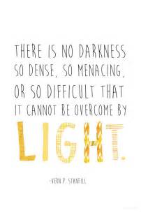 So difficult that it cannot be overcome by light vern p stanfill