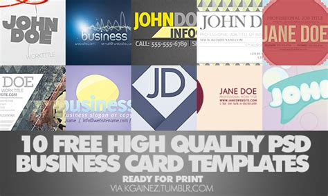 different business card templates free business card templates for photoshop designmodo