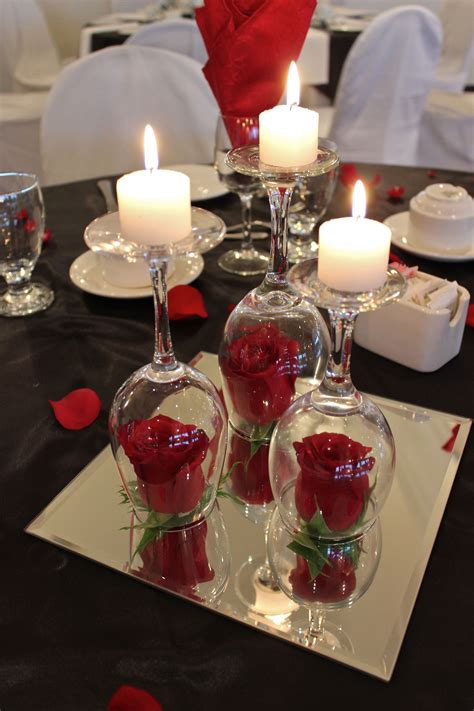 a classically beautiful centerpiece we put together for a