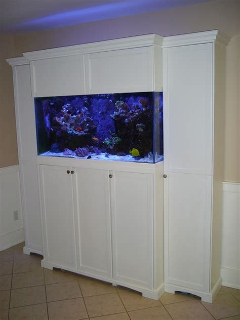 Aquarium cabinet for 90 gallon reef tank   Traditional