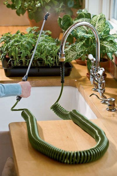 mini coil indoor garden hose  sprayer  images