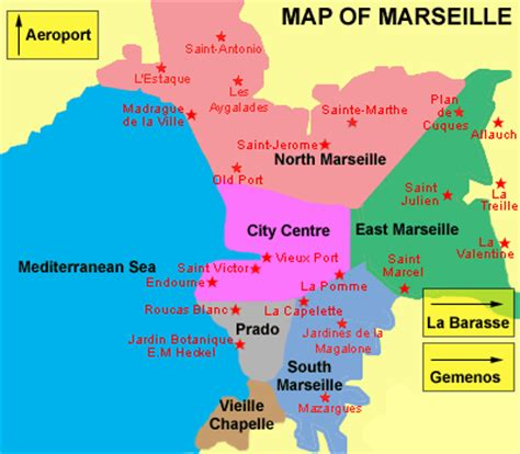 map of marseille map of marseille city pictures